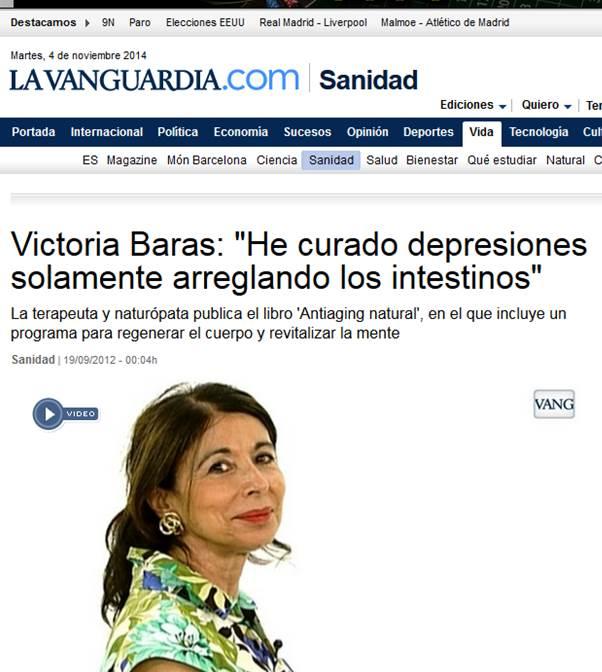 La Vanguardia Septiembre 2012